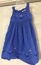 JANIE & JACK TODDLER GIRLS DRESS SIZE 3T 3  T  BLUE
