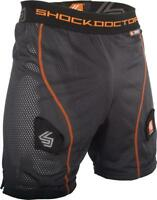 Shock Doctor #361-07-13 Boy's Core Loose Hockey Perforated Shorts W/ Bioflex Cup