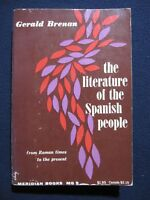 The Literature of the Spanish People: From Roman times to the present day