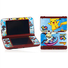 Pikachu Vinyl Decal Cover Skin Sticker for New Nintendo 3DS XL LL Console