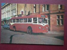 POSTCARD DARWEN CORPORATION 1957 CROSSLEY RELIANCE BUS NO 18