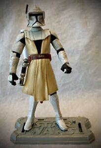 2008 STAR WARS - The Clone Wars TCW - Obi-Wan Kenobi with Launcher - 3.75 Figure