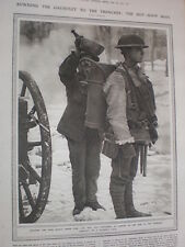 Photo article WW1 trenches The Hot Soup Man 1917