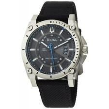Bulova Precisionist Champlain Titanium 96B132 Quartz Men's Watch with bulova box