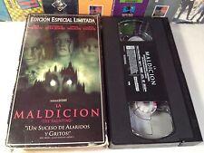 La Maldicion (The Haunting) Rare Spanish Lang Horror VHS 1999 OOP HTF Limitada