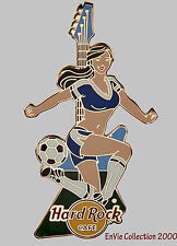 Hard Rock Cafe ONLINE Soccer Sexy Girl Euro Cup 2012. Series Pin 1. (P. A*+)
