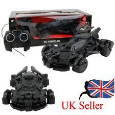 UK Wireless Remote Control Car Kids Toy Batman Superman Electric Racing Car Gift