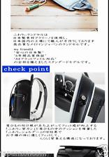 Kyowa 03-15037 Fuwaryi my friend school bag black / blue stit JAPANESE SCHOOLBAG