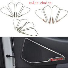 Car Front Door Speaker Horn Frame Trim Stickers Cover for Hyundai Tucson 2015-17