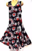 TS Dress TAKING SHAPE VIRTU plus sz L / 22 'Ambient' vintage-look stretch NWT!