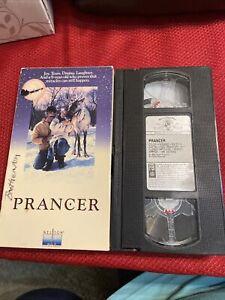 Prancer ~ VHS Movie ~ Christmas Holiday Sam Elliot ~ Vintage Video