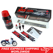 YSS Front Fork Spring Upgrade kit fit for Honda C125 Super Cub New 2019 2020