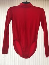 Jv Bloomers Red size M Adult long sleeve Ships N 24h