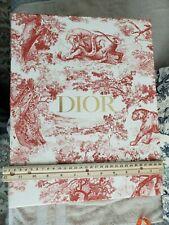 Rare Dior Red Lion / Safari Print Gift Box Only
