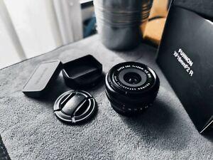 Fujifilm Fuji Fujinon XF 18mm f/2 R Lens