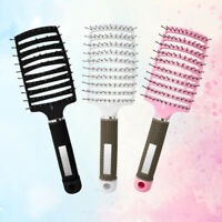 Women Nylon Brush Hair Care Scalp Spa Massage Comb Anti-static Comb Beauty