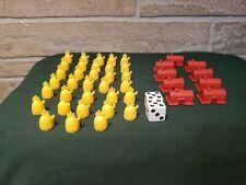 Monopoly Spongebob Squarepants Game Pieces Pineapples & Krusty Krabs Replacement