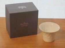 ROSENTHAL *NEW* Set 2 bougeoirs, blanc, Nuvola - candlesticks haut.6,5cm dia.9cm