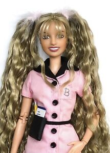 CUSTOM BRITNEY SPEARS VIDEO PERFOR DOLL + MADE TO MOVE BARBIE BODY & REROOT