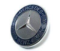 für Mercedes Benz Emblem Abdeckung Stern Motorhaube AMG Ersatz Deckel Logo C208