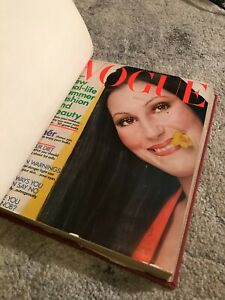 3 Bound Vogue Magazines ~April May June 1972, Volume 159 --- AMAZING CHER ISSUE