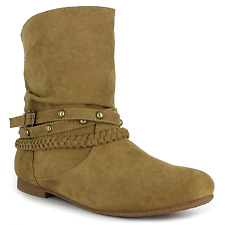 Women's Dolce Jojo Ankle Boot Camel Size 8 #NJZVG-613