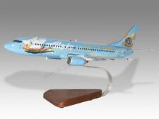 Boeing 737-400 Alaska Airlines Disney Handcrafted Solid Wood Display Model
