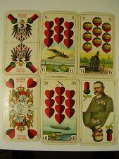 1 WK Seltenes Karten Spiel Deutsche Kriegs - Spielkarte vor 1918
