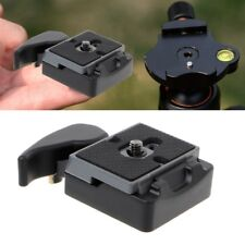 323 Quick Release Clamp Adapter+Plate Mount For Manfrotto 200PL-14 Camera Tripod