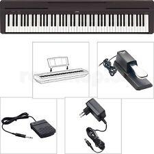 Yamaha P45 B Digital E-Piano Klavier SET mit Sustain Pedal + Zubehör - NEU