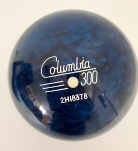 Columbia White Dot 300 Ten Pin Bowling Ball NEW UNDRILLED 10lb