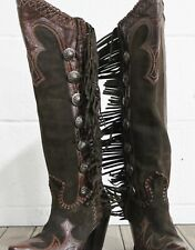 Double D Ranch by Lane Boots Vaquero Women's Western Cowgirl Boots Size 5.5
