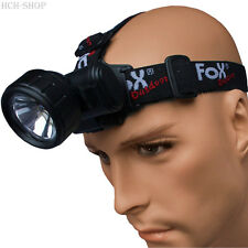 Fox Outdoor Stirnlampe Kopflampe Camping Krypton Birne schwenkbar wasserdicht
