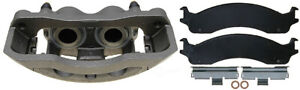 Disc Brake Caliper-Fleet Loaded Caliper with Semi-Metallic Pads Front Right