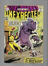 Unexpected Tales of The 60 Apr 1961 VF- Space Ranger Beasts from Space Seeds Bob