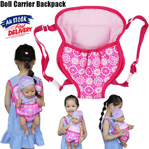 Baby Doll Carrier Backpack Accessories Front Back Sleeping Bag Girl Straps 15-18