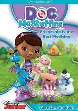 DOC MCSTUFFINS: FRIENDSHIP IS THE BEST MEDICINE NEW DVD