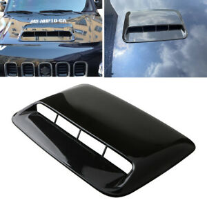 Car Decoration Air Intake Grill Front Vent Inlet Scoop Aircooled Hood Cover