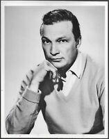 ~ Warren Stevens Original 1960s TV Promo Photo Twilight Zone Actor