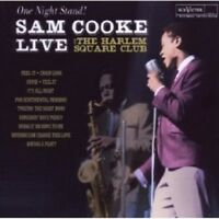SAM COOKE - ONE NIGHT STAND-SAM COOKE LIVE AT THE HARLEM SQUARE CLUB  CD NEW!