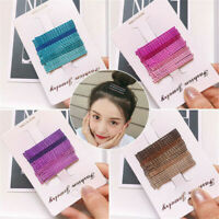 24PCS/Set Candy Color Hair Pins Bobby Pins Hair Clips for Women Girls