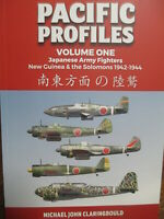 Pacific Profiles Vol 1 details Japanese Army Fighters New Guinea Solomons Book