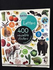 Eye Like Letters Stickers 400 Reusable Inspired By Nature By Play Bac