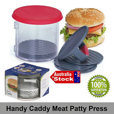 NEW HAMBURGER PATTY ABS MOLD MAKER BURGER MEAT BBQ GRILL AUTOMATIC FORMING PRESS