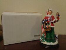 Danbury Mint Star Spangled Christmas Patriotic Figurine Wb