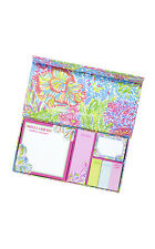 LILLY PULITZER - Sticky Note Set - Lover's Coral