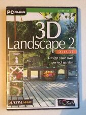 3D LANDSCAPE 2 (DELUXE), PC CD-ROM , NEW AND SEALED.