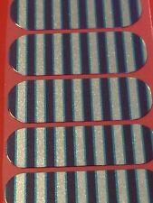 Jamberry Half Sheet - Cali Girl - Retired Metal Stripe