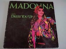 "MADONNA -DRESS YOU UP-MAXI-SINGLE-12 "" SPANISH"