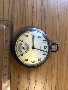 Vintage Oris Pocket Watch Working